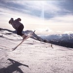 滑雪在 Madonna di Campiglio, Il Della 拍摄
