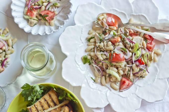 Insalata di fagioli (豆子和金枪鱼沙拉),吴维端拍摄