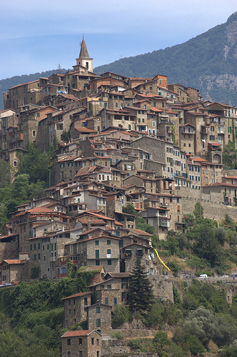 Apricale,Funchye拍摄