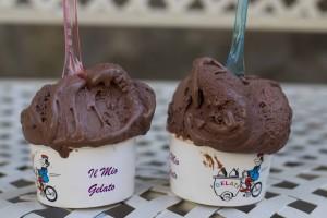 巧克力冰淇淋(gelato)
