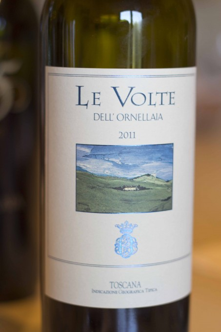 乐弗特干红,奥纳亚的佐餐葡萄酒 (Le Volte, Ornellaia's table wine)