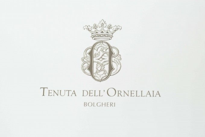 Ornellaia label奥纳亚商标
