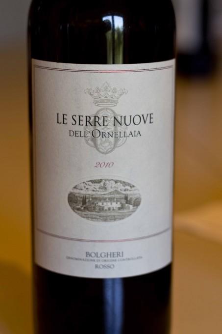 乐塞瑞干红,奥纳亚的第二子品牌 (Le Serre Nuove, the second wine to Ornellaia)