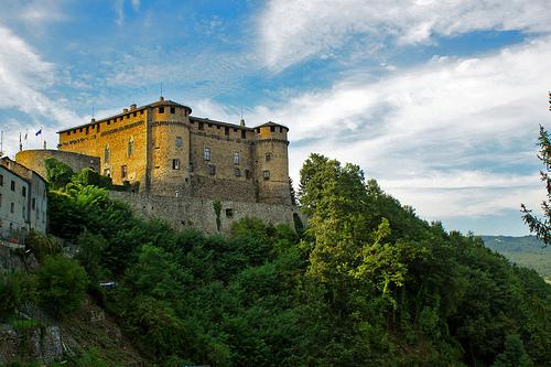 Castello di Compiano ,Sorriso-per-te拍摄