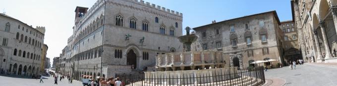 佩鲁贾(Perugia)马雷焦喷泉(Fontana Maggiore
