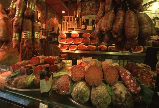 Gastronomia Tamburini Salumi,博洛尼亚,Turismo Emilia Romagna拍摄