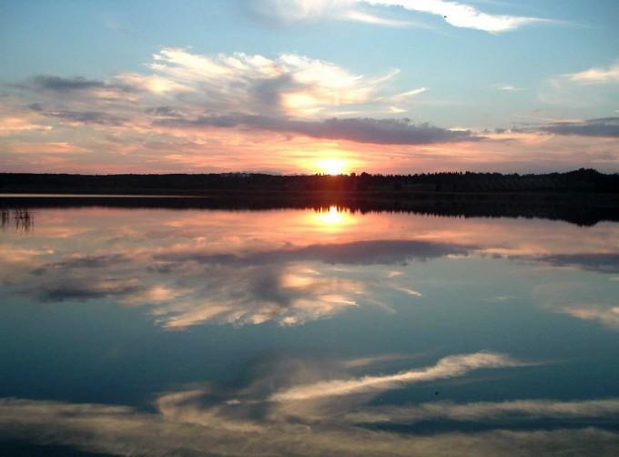 Otranto附近的Almini湖,