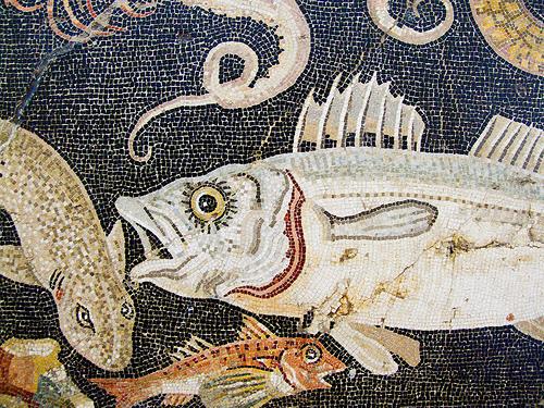 Pompeii 公元前2世纪的马赛克