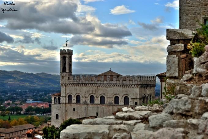 Palazzo di Consoli城堡,古比奥(Gubbio)