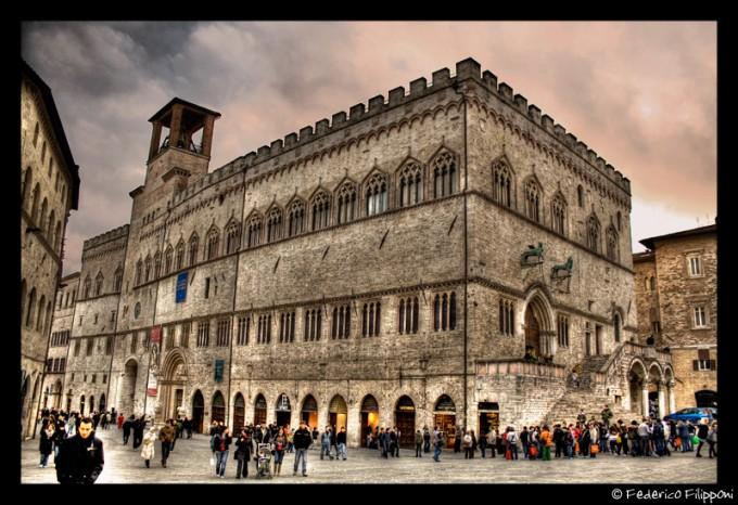 佩鲁贾(Perugia)执政官大厦(Palazzo dei Priori ),