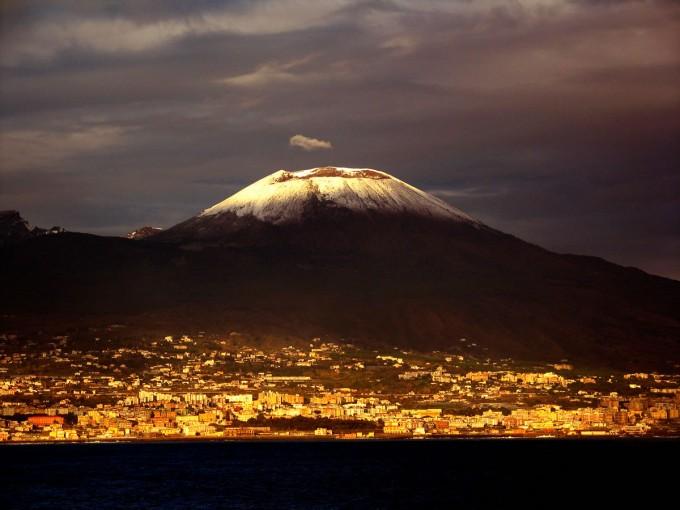维苏威火山(Monte Vesuvio)