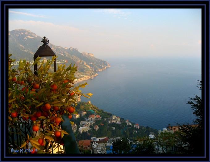 Palazzo Sasso俯瞰风景,