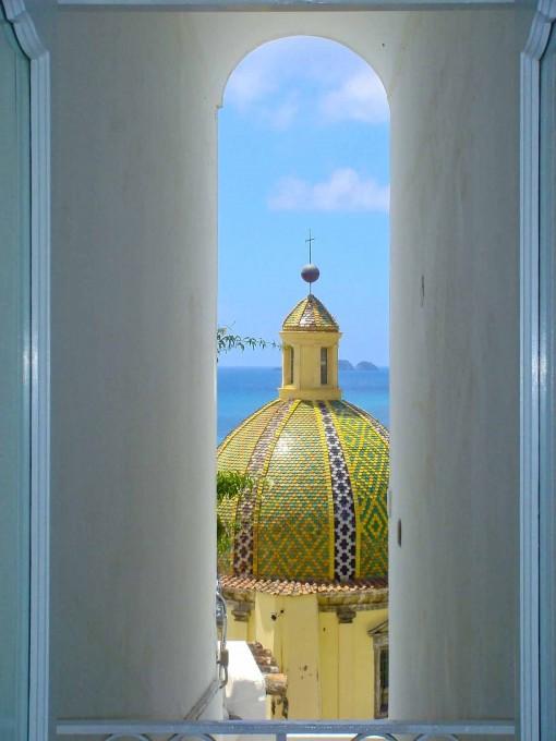Positano的圆屋顶, 吴维端 拍摄