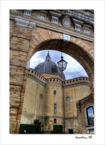 洛雷托(Loreto)的Basilica di Santa Casa ,Carlo Granchius Bonini拍摄