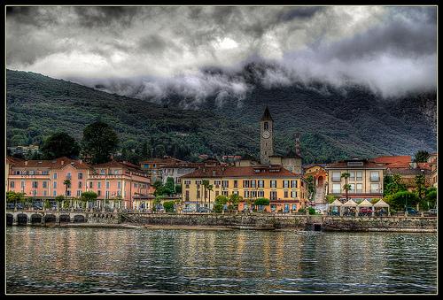 马雷焦湖(Lago Maggiore),Marie Jirousek拍摄