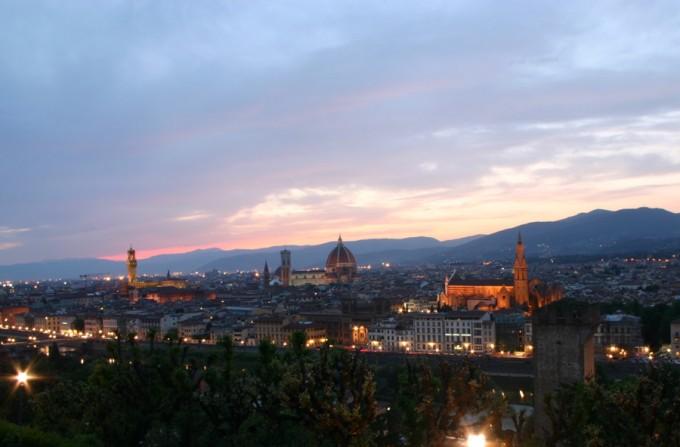 从Piazza Michelangelo拍摄的Firenze,Denny Schmickle拍摄