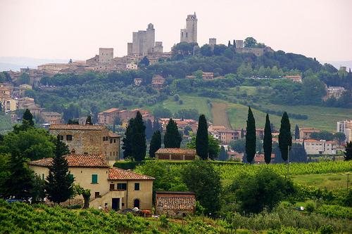 San Gimignano,Mathias Liebing拍摄