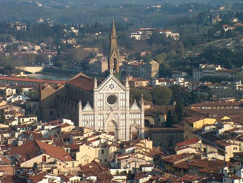 佛罗伦萨的Santa Croce,Axel Vogt拍摄