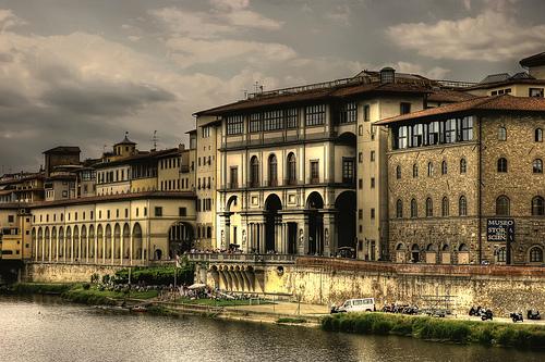 佛罗伦萨乌菲奇美术馆(Uffizi, Firenze),Giuseppe Moscato拍摄