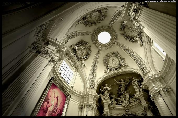 aterano的Basilica di San Giovanni,Leonardo拍摄