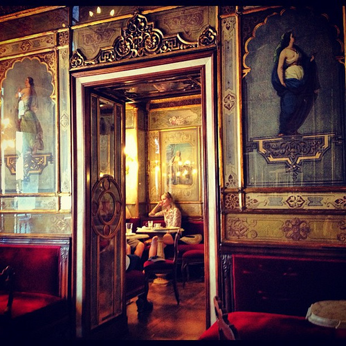 Florian咖啡馆,Maria Rosario Sannino拍摄