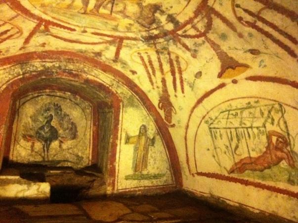 Via Latina的地下墓室,Roko Baroko拍摄