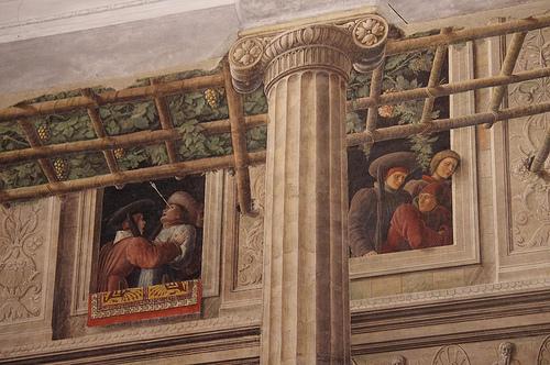 Padova的Chiesa deli Eremitani教堂内的壁画,David Bramhall拍摄