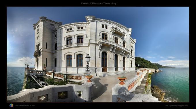 Miramare城堡,Paolo Vercesi拍摄
