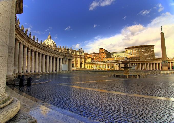 圣彼得广场,Piazza San Pietro,Gaspar Serrano拍摄