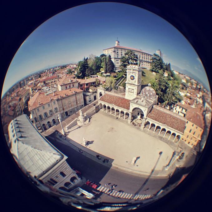 Piazza della Liberta, Udine,Piero Fissore拍摄