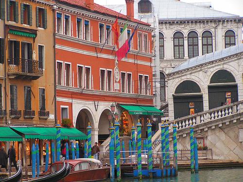 威尼斯的Ponte Rialto(桥),Ramzi Dziri拍摄