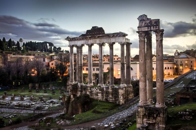 古罗马城市广场,Benson Kua拍摄