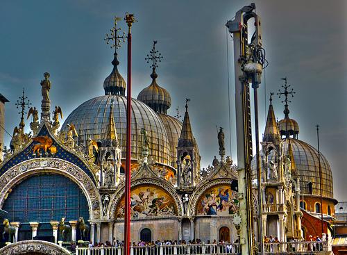 威尼斯圣马可教堂(Basilica),Rodrigo Soldon拍摄