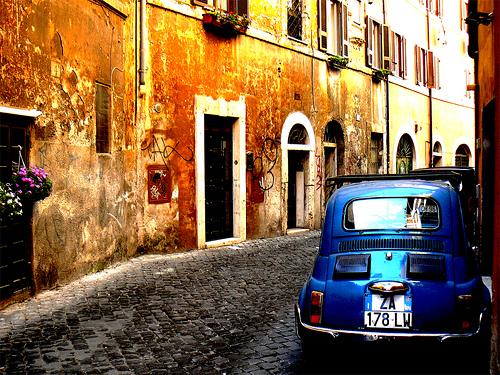 罗马的Trastevere,Mozzercork拍摄