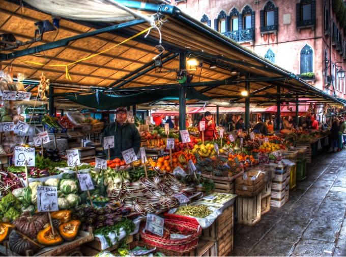 威尼斯的水果市场,Dorli Photography拍摄