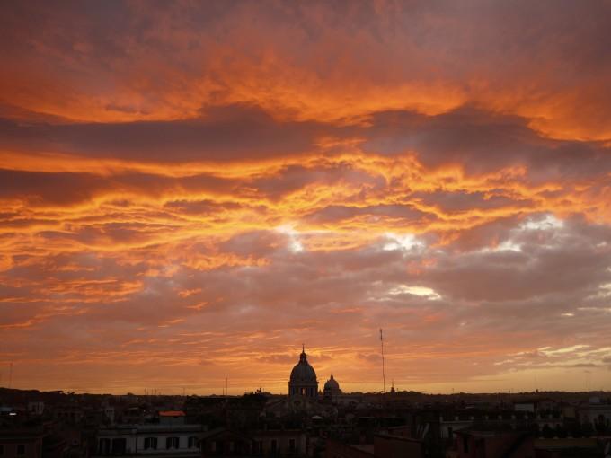 Roma城的日落,Stefan Geens拍摄