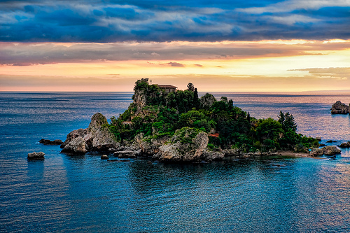 Isola Bella, Taormina,Julian Gonzales拍摄