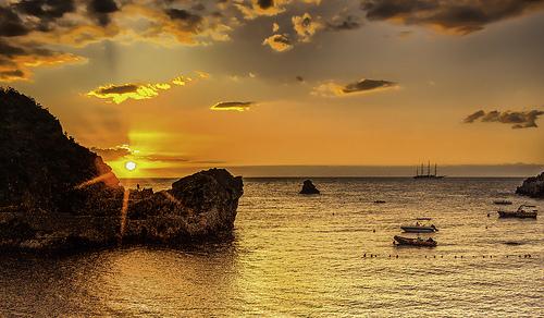 Taormina的日出,ValeriiTkachenko拍摄
