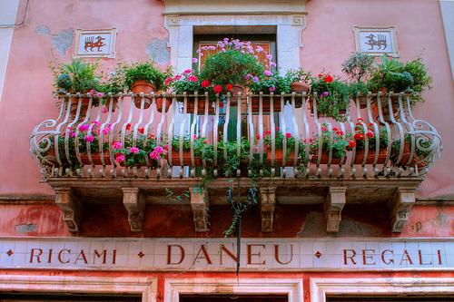 Taormina的阳台,Francesco Sgroi拍摄