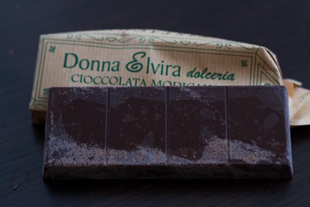 Cioccolato di Modica (冷加工巧克力)