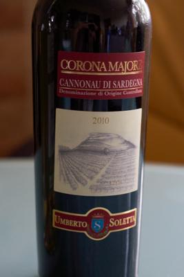 Cannonau di Sardegna, Tenute Soletta