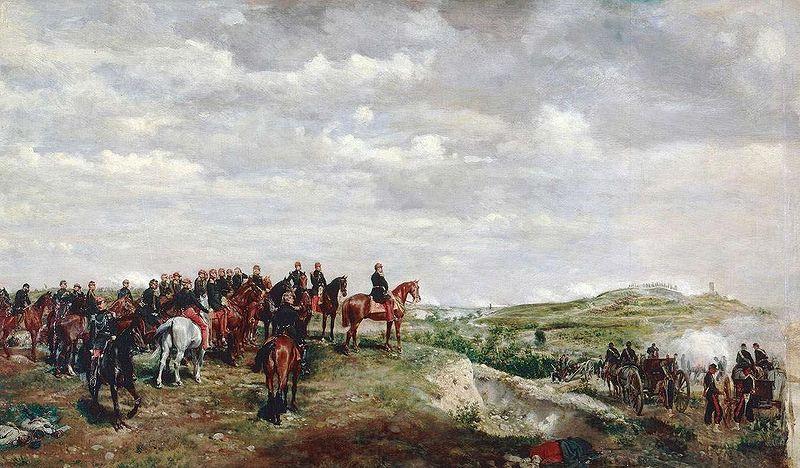 拿破仑三世在苏法利诺的战场上,JEAN-LOUIS-ERNEST_MEISSONIER(PD-OLD)