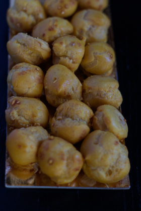 CEDRINI DI SIRMIONE(酥皮糕点,以榛子奶油填馅)