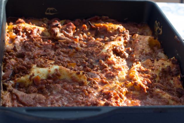 Lasagne (意大利肉酱千层面)