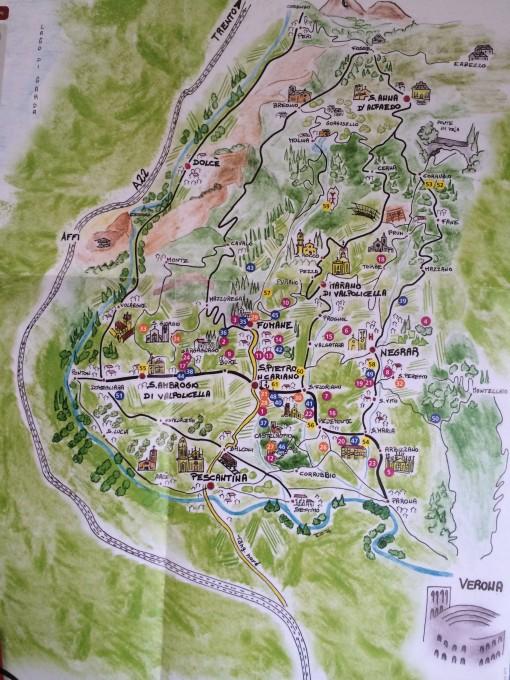 瓦尔波利切拉地图