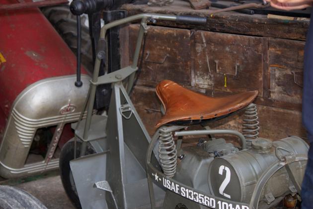 二战时美国空降到意大利的摩托车