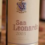 San Leonardo 2003