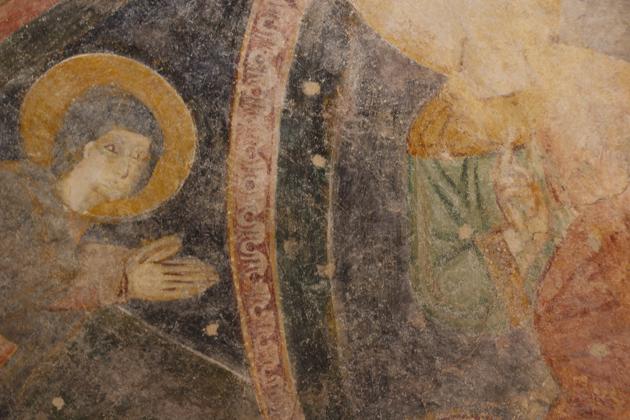 发现的12世纪壁画