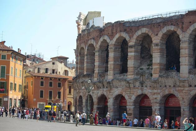 维罗纳的罗马竞技场