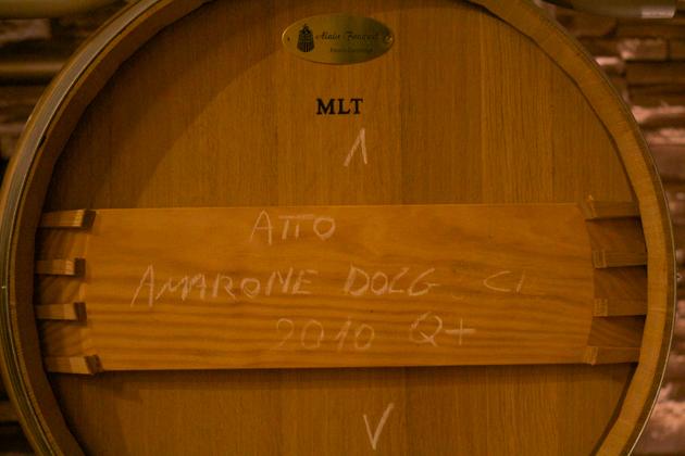 装在木桶中的2010年AMARONE